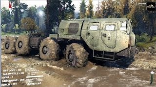 Video SPINTIRES 2014 Full Version Preview - 8x8 Truck Towing the Ural Truck + Trailer MP3, 3GP, MP4, WEBM, AVI, FLV Oktober 2018