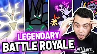 Pokemon Master Reacts to Legendary & Mythical Pokemon Battle Royale ANIMATED by aDrive