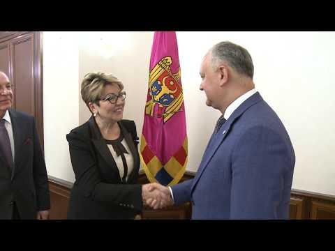 Șeful statului a avut o întrevedere cu Președintele Agenției Rossotrudnicestvo
