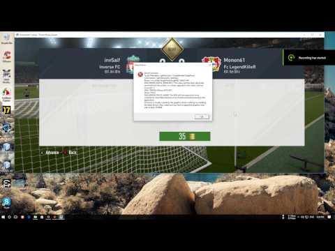 FIX FIFA Crash: DXGI_ERROR_DEVICE_REMOVED / Directx DXGI Error