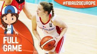 Watch live Czech Republic v Greece at the FIBA U20 Women's European Championship 2017 - DIV B. ▻▻ Subscribe: http://fiba.com/subYT Click here for more: ...