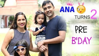 Stalk me - https://goo.gl/1gmCTAToday, Ana turned 2!! It has been lovely journey & we totally feel blessed. Hope you'll enjoy this Pre-Birthday Preparations vlog and stay tuned till Monday as the Birthday Bash vlog would be coming up .... Don't forget to LIKE, SHARE & COMMENT!!MORE AWESOME VLOG--------------------------------------Biggest Surprise Ever  8 Years Of Togetherness https://youtu.be/EMcCRCBWN-MDIY Dress from Pillow Coverhttps://www.youtube.com/watch?v=mV2fulJ46qwHow To Convert Your Old SAREE into a DRESShttps://youtu.be/ztK-1a0ARVsHow To Convert ANARKALI into LEHNGA CHOLIhttps://youtu.be/ADzGuTtFL6oThe Whisper Challenge - Gone Wrong?https://youtu.be/OZzarSc9wKoGood Bye DUBAI... I'll Be Back Soonhttps://www.youtube.com/watch?v=Og106WmMZx4DUBAI Continues ... Meet & Greet, Glow Garden & lot morehttps://youtu.be/ubChMPm-5CcWelcome To DUBAI ...  ShrutiArjunAnandhttps://youtu.be/NlPDQOkP0tMA Million Dollar Smile...  ShrutiArjunAnandhttps://youtu.be/XKyU010Tah0OMG! It's Unbelievable ....#ShrutiVlogshttps://youtu.be/pY4IvLC276YWoh Kaun Thi?https://www.youtube.com/watch?v=oxOgupD2FIQHow To Get Pregnant?https://youtu.be/PO9d-bOR0g4ShrutiArjunAnand @ YouTube FanFest India 2017https://youtu.be/bpmghViw2MgLets Play Holi! A Day In My Lifehttps://youtu.be/udqbhNuA1LAMy Wedding Album #Reactionhttps://youtu.be/l44VwENoVLUThe Valentine Day Wedding - A Day In My Lifehttps://youtu.be/DU5Db1C_BIoMy Cousin's MEHNDI & SANGEET - A Day In My Life https://youtu.be/w2YUIQO4FsMA Day In My Life - Kids Playzone, Shopping Mall, Street Markethttps://www.youtube.com/watch?v=sgmuFYX21Nc#DIML - ANA Growing Up, Lohri Celebrations, Clip Hanger DIYhttps://youtu.be/4p1UkX1GBTwMy New Year Party - Crazy Family Fun, Dance etc..https://youtu.be/v4AcSc0PK_wMy Christmas Party 2016  A Day In My Lifehttps://youtu.be/eSdZcFa_-o4My Cousin's Wedding Day #DIML Vlog  - Fun Unlimitedhttps://youtu.be/zph4WmTNNHMDiwali Celebrationshttps://www.youtube.com/watch?v=yIuhqU5CcLkDiwali Decorations - Home Tourhttps: