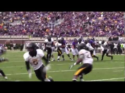 Jamie Collins pick six vs East Carolina 2011 video.
