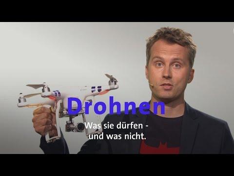 Drohnen - Was dürfen sie?