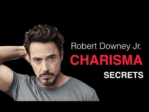 Czym jest charyzma na przy Roberta Downey jr