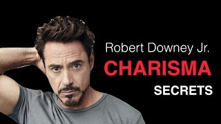 Video How To Be Charismatic With Women: Robert Downey Jr. Charisma Breakdown MP3, 3GP, MP4, WEBM, AVI, FLV Agustus 2018