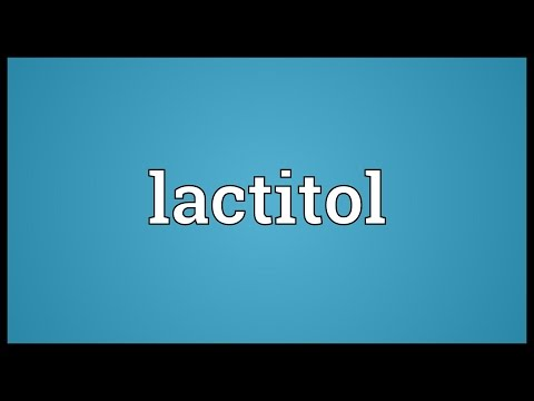 Lactitol Meaning