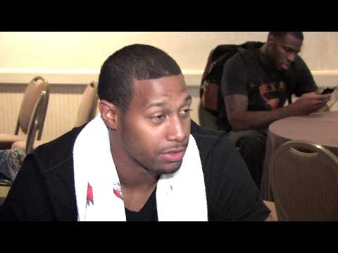 James Johnson Draft Combine Interview