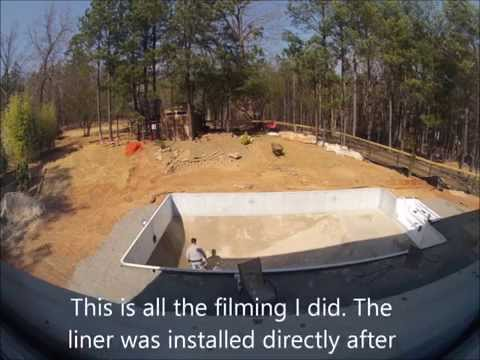 DIY inground pool install