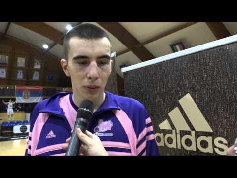 ANGT Rome interview: Marko Pecarski, U18 Mega Leks