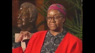 This highlight comes from an interview of Gwendolyn Elizabeth Brooks on February 11, 1996, recorded as part of the National Portrait Gallery's Living ...