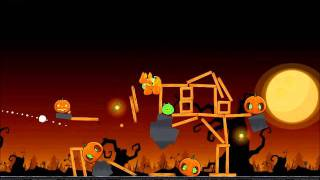 Angry Birds Seasons Walkthrough Trick or Treat 3-3