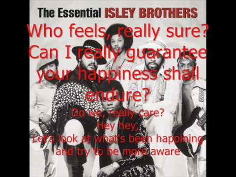 The Isley Brothers Footsteps In The Dark