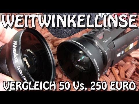 Weitwinkel Linse. - Link Panasonic Weitwinkellinse Amazon: http://amzn.to/1qFE3DG Link 0.5x Minadax Weitwinkel Vorsatz Amazon: http://amzn.to/1lEv560.
