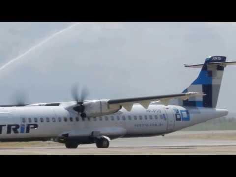 Exclusivo: Chegada do Primeiro Voo Inaugural da Azul em Paulo Afonso