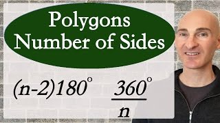 Learn how to find the number of sides in a polygon in this free math video tutorial by Mario's Math Tutoring.  We go through 2 examples: 1 with the sum of the interior angles and the other with the measure of an exterior angle in a regular polygon.Looking to raise your math score on the ACT and new SAT? Check out my Huge ACT Math Video Course and my Huge SAT Math Video Course for sale athttp://mariosmathtutoring.teachable.comFor online 1-to-1 tutoring or more information about me see my website at:http://www.mariosmathtutoring.com