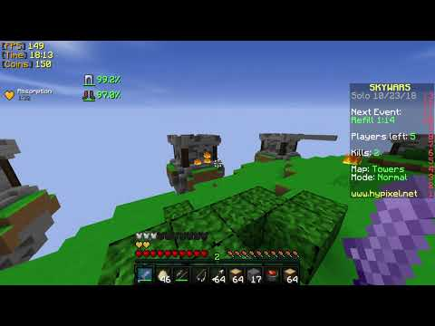 Minecraft Hypixel Skyways / Duels - 3 STREAK!