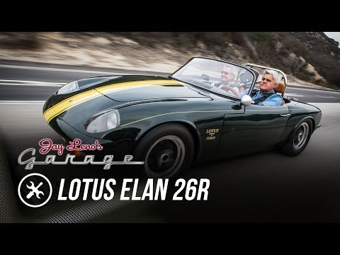 Restoration Finished: 1966 Lotus Elan 26R – Jay Leno's Garage