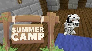 Minecraft | SUMMER CAMP! - DOG SEARCH!! [12]
