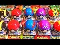 Ouverture de 10 Pokéball Surprise Pokémon XY&Z ! MEGA POKEMON SHINY !