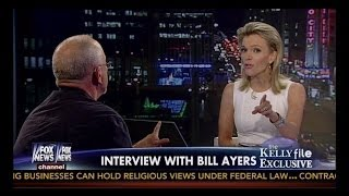 Flaming Hot ➡ Megyn Kelly Takes Down Bill Ayers ➡ 'You Sound Like Osama Bin Laden'