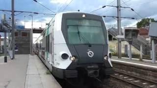 Carrieres-sur-Seine France  city pictures gallery : MI09 : Sans arrêt en gare de Houilles Carrières sur Seine sur la ligne A du RER