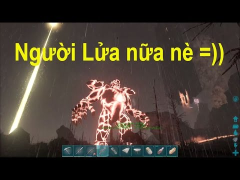 ARK: The Center #14 - Sói lửa 3 đầu và Ma cây khổng lồ đã xuất hiện =)) - Thời lượng: 41:59.