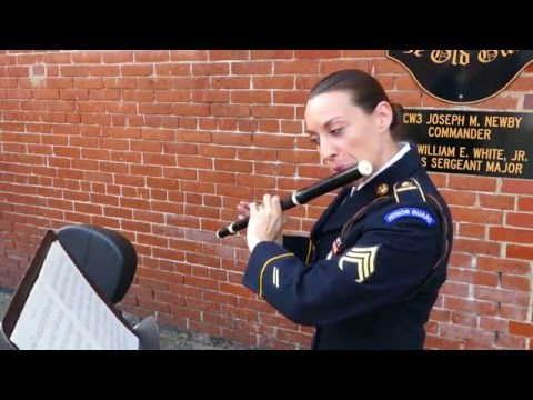 Fundamentals- Fife & Drum Corps, Historical Flute