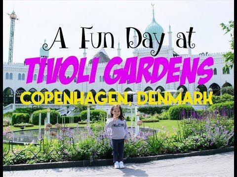 Tivoli Gardens in Copenhagen, Denmark | Rasmus Klumps Verden видео