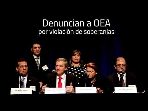 Denuncian a OEA y CIDH por intromisión y violación de soberanías de naciones miembros