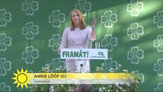 """Video Nazister avbröt partiledarens tal i Almedalen: """"Många som började gråta i publi - Nyhetsmorgon (TV4) MP3, 3GP, MP4, WEBM, AVI, FLV Juli 2018"""
