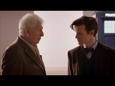 The Eleventh Doctor Meets The Curator (tom Baker) | Doctor Who | The Day Of The Doctor | Bbc