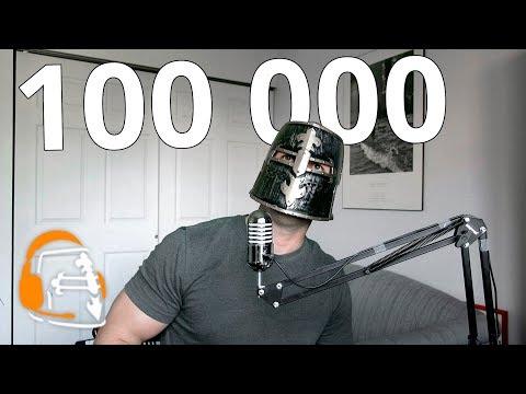 100 000 подписчиков. Спасибо!