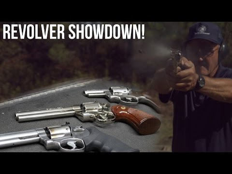 ruger - Many people have been asking us to compare .357/ .38 revolvers and there is no better person in the world to do it than Jerry. Which is your favorite? http://www.Miculek.com LIKE JERRY ON ...