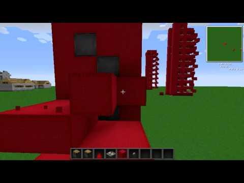 MineCraft Pistonlu Asansör Yapımı