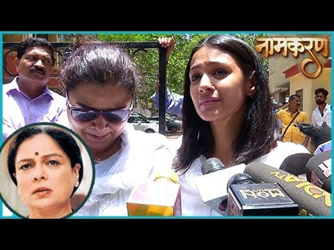 Barkha Bisht aka Asha Breaks Down At Reema Lagoo F