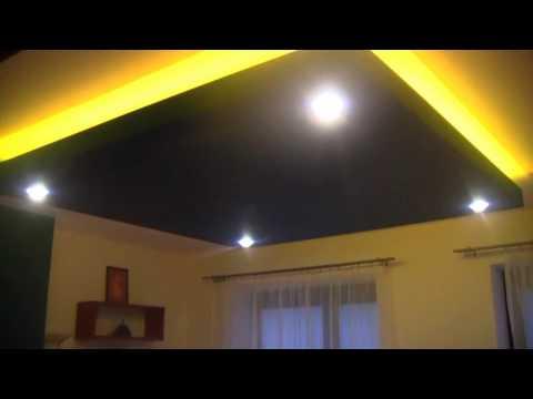 Oświetlenie LED w suficie podwieszanym