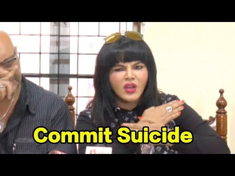 Rakhi Sawant Threatens To Commit Suicide!