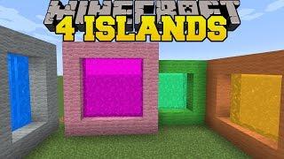Video Minecraft: 4 ISLANDS! - THE 8 ISLANDS - Custom Map MP3, 3GP, MP4, WEBM, AVI, FLV September 2018