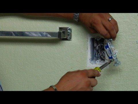 C mo cambiar un interruptor electrico de pared - Cambiar instalacion electrica sin rozas ...