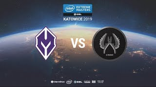 Monolith vs. PUGSTAR5 - IEM Katowice 2019 Closed Minor CIS QA - map1 - de_train [Anishared]