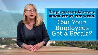 Employment Matters: Do Your Employees Need More Vacation?