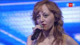 TVN HD - Factor X Chile / Raquel Castillo (La chica de las 5000 imitaciones)
