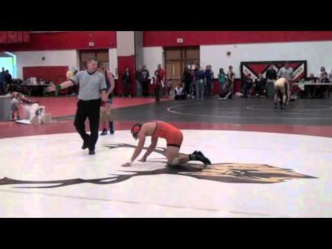 Adam Hammer (Osseo) vs Shane White (Brainard)