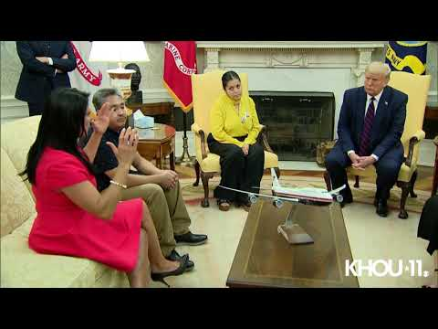 Vanessa Guillen Update | Soldier's family meets with President Trump at White House (Full Video)