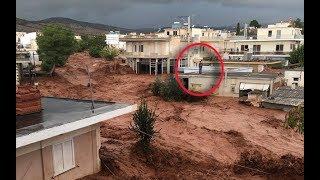 Video Mandra floods, Nea Peramos,  flash floods, Symi island mudslide, extreme weather in Greece MP3, 3GP, MP4, WEBM, AVI, FLV November 2017