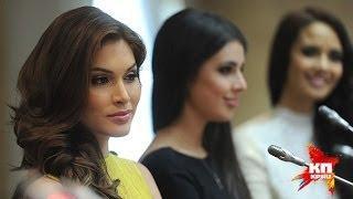 Miss Universe 2013, Gabriela Isler Junto A Miss World 2013, Megan Young Y Miss Russia 2013