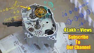 Bajaj CT 100 Restoration - Part 2 Engine Rebuild - (Spare Parts Catalog Link In The Description)