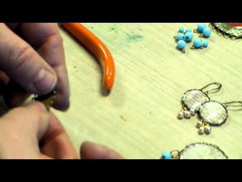 Earrings, Pendants, Bracelet with Lace Edge Bezels, Beer Caps, Cameos, Art Bubbles, Text Images