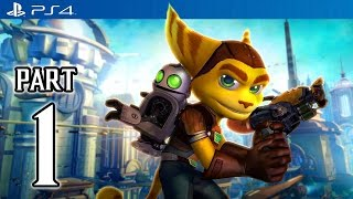 Ratchet & Clank Walkthrough PART 1 (PS4) No Commentary Gameplay @ 1080p HD ✔